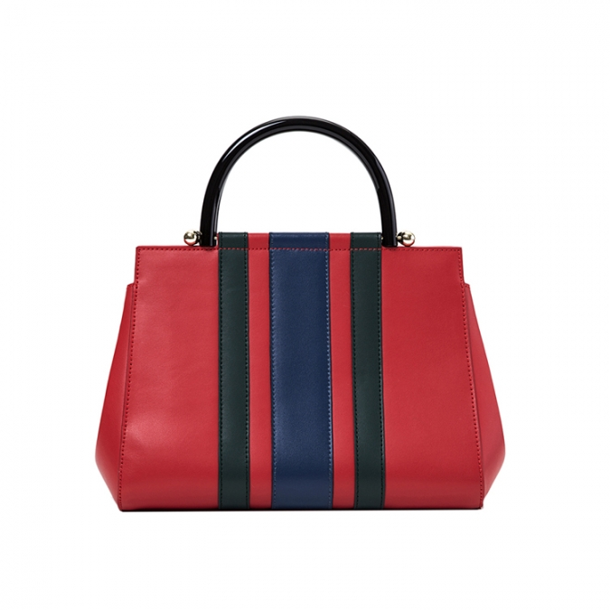 Colorful Genuine Leather Women Bag