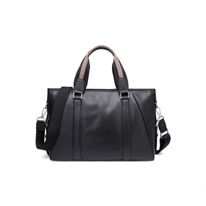 Black Leather Messenger Bags