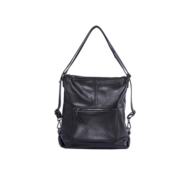Leather Multifunctional Tote Handbag